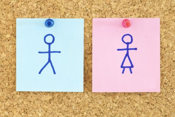 Gender Post It Notes